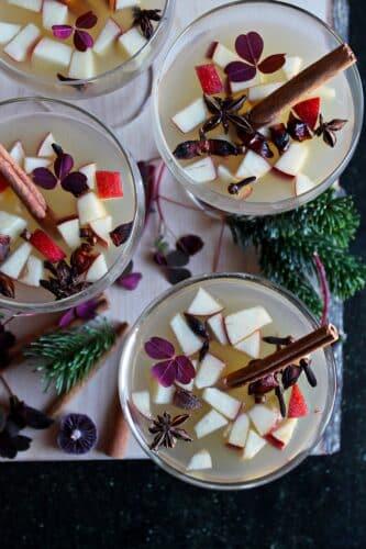 Æblegløgg - Opskrift på alkoholfri æblegløgg - Sund og antiinflammatorisk