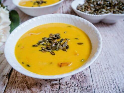 Butternut squash suppe - Opskrift på antiinflammatorisk, sund græskarsuppe