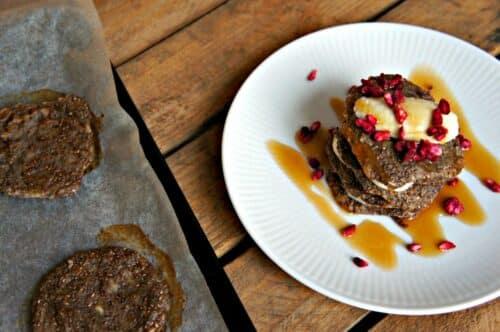 Veganske pandekager - Opskrift på sunde pandekager uden sukker og æg