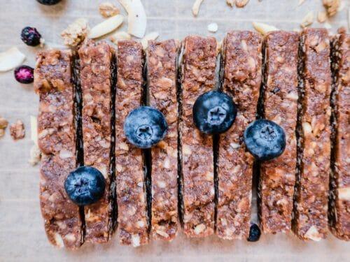 Granolabarer - Opskrift på sunde granola barer med granola og mysli