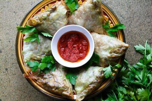 Sunde samosa - Opskrift på nemme og sunde samosaer med kartofler