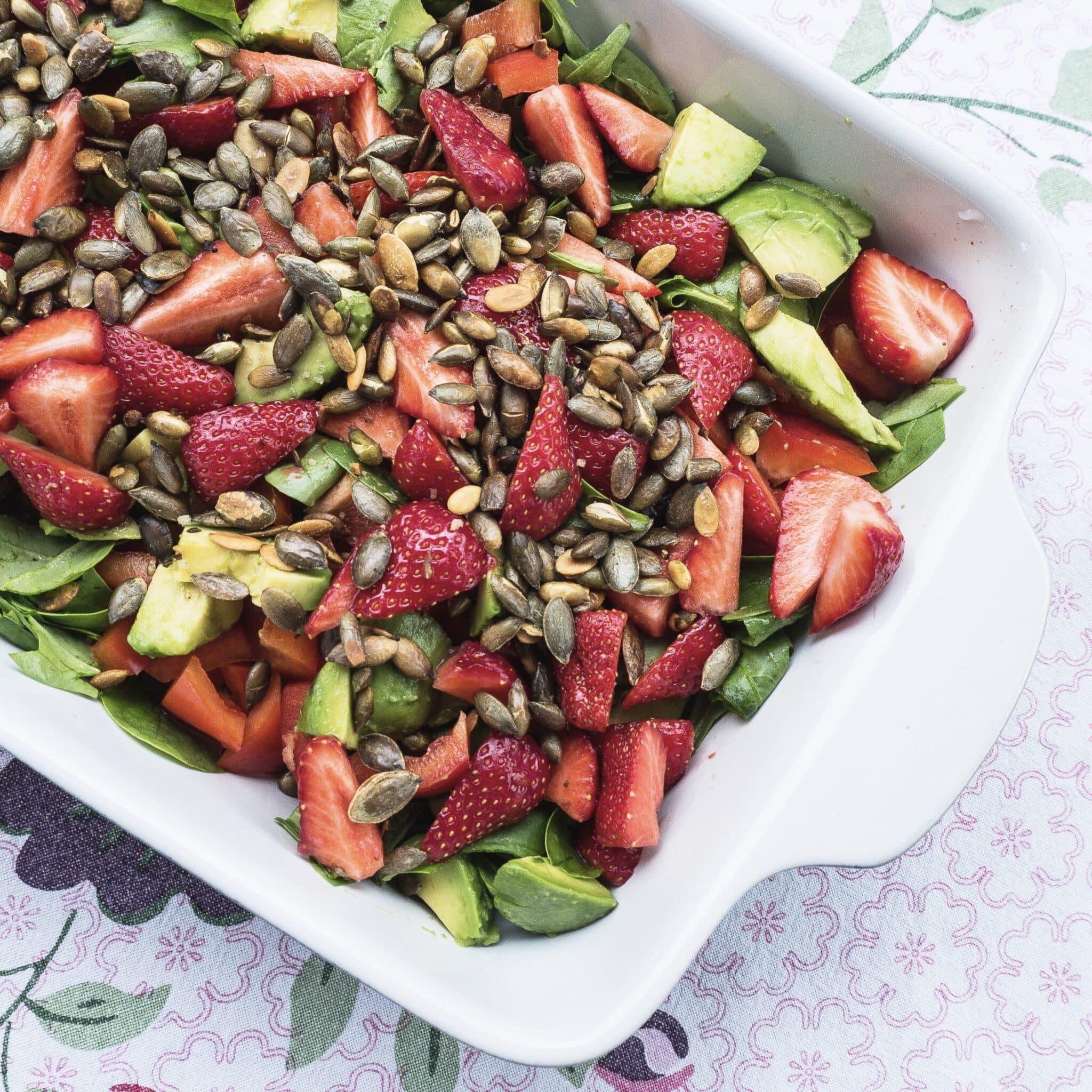 10 sunde salater - Opskrifter på sunde og nemme salater