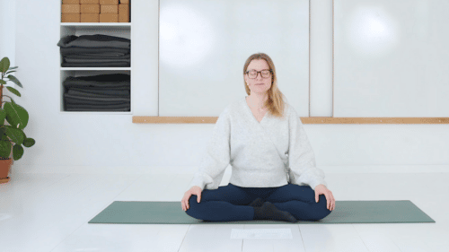 Mindful morgenmeditation
