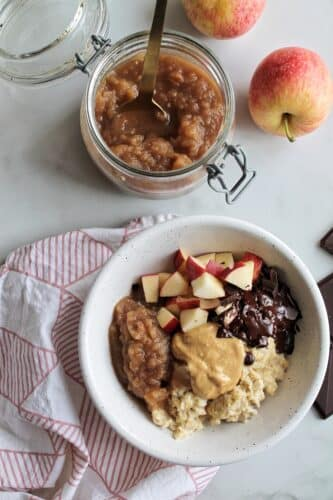 Sund æblegrød - Opskrift på klassisk æblegrød med kokossukker