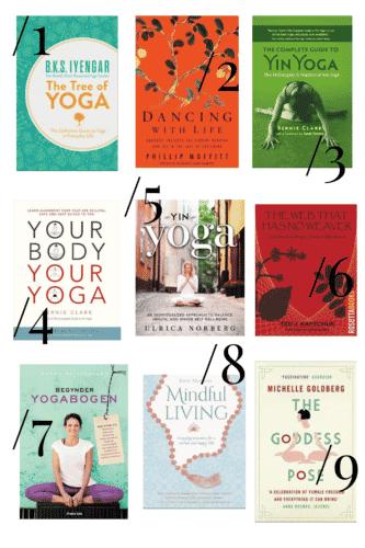 Bøger om mindfulness, meditation og Yin Yoga - Få inspiration på bloggen!