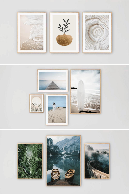Mindfulde plakater til hjemmet - Inspiration til flotte billedvægge