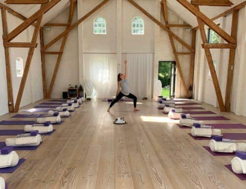 Yoga Retreat på Samsø - Tag på yogaferie på Samsø (Mellem-Rummet)